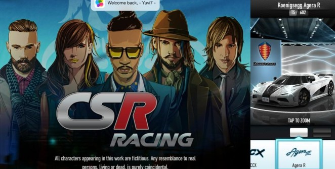 CSR Racing iOS Game Review