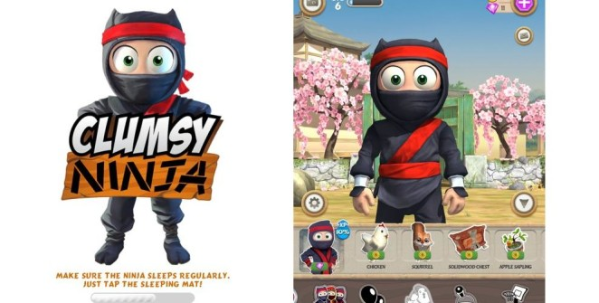 Clumsy Ninja iOS Review