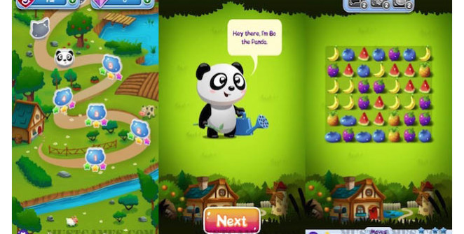 Fruit Panda Juicy Match Android Game Review