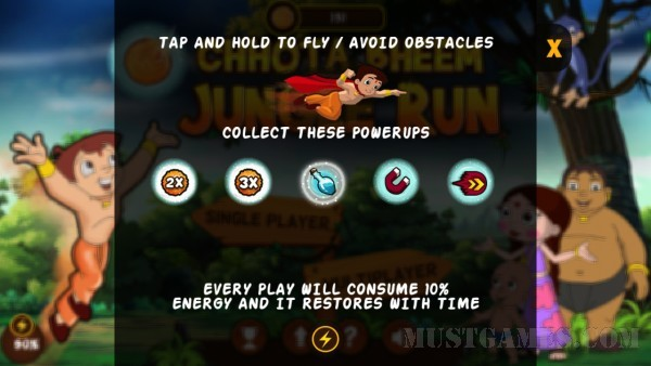 Chhota Bheem Jungle Run Review